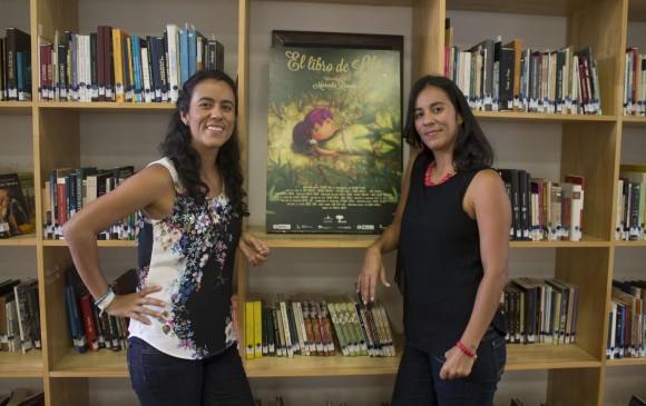 Marcela y Maritza Rincón son las creadoras de este proyecto. FOTO Cortesía Carlos Eduardo Moreno - M.O.C.J. fotografía en movimiento.