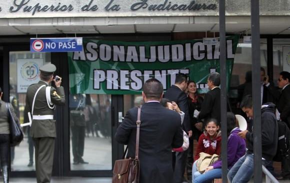 Paro judicial contin a tras reuni n entre gobierno y for Juzgados de paloquemao
