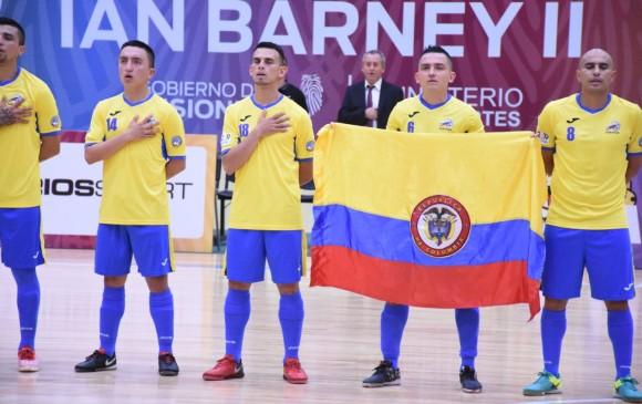 Colombia goleó en su segundo juego del mundial de Fútbol de Salón