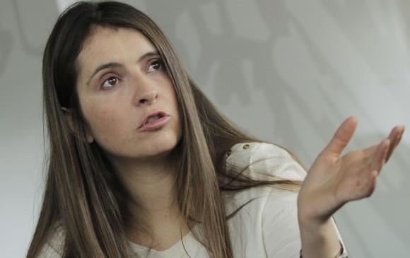 Senadora Paloma Valencia dice que la Fiscalía busca doblegar a la