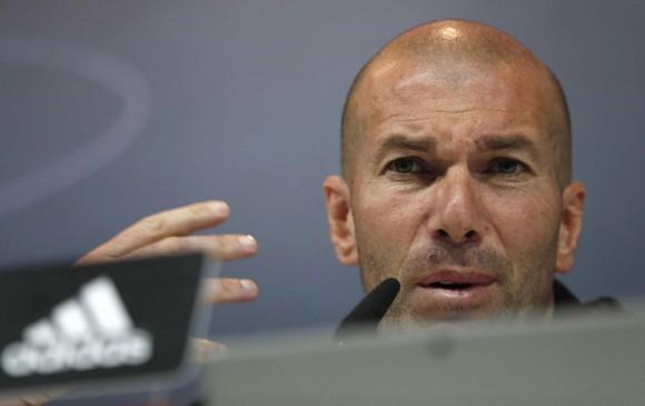 Zidane manifestó que su equipo hizo las cosas bien y merece estar en las semifinales de la Champions. FOTO EFE