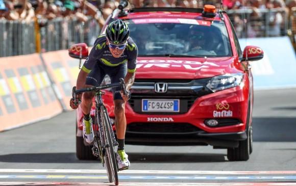 Pierre Rolland gana la etapa 17 del Giro de Italia