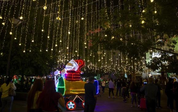 En imágenes | Envigado encendió su alumbrado navideño