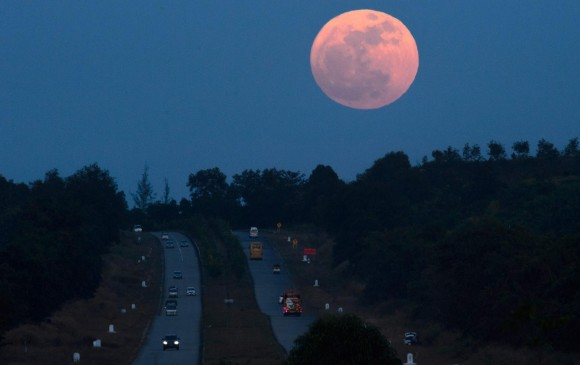 La Luna estuvo 357.497 kilómetros más cerca