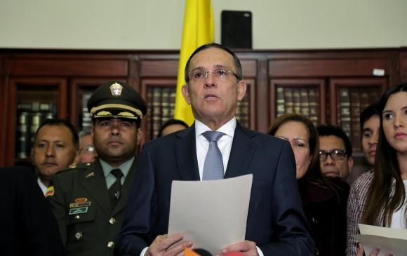 Efraín Cepeda deberá enviar a sanción presidencial las circunscripciones Especiales de Paz, en cumplimiento de una orden judicial. FOTO: COLPRENSA