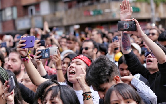 Avanza el gran concierto 'Un canto por Colombia'