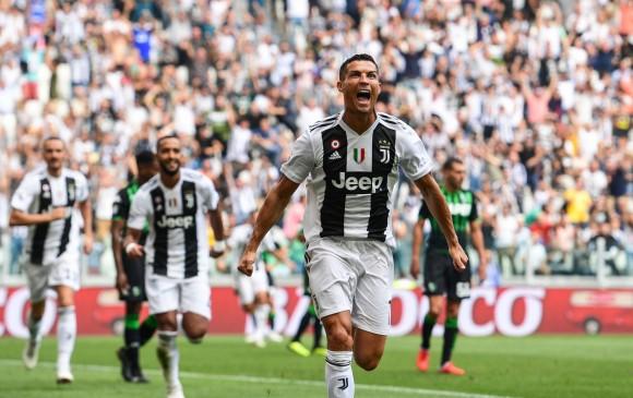 Cristiano Ronaldo rompe sequía en Italia con un doblete