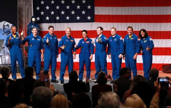 La NASA anuncia a tripulación que viajará al espacio en 2019