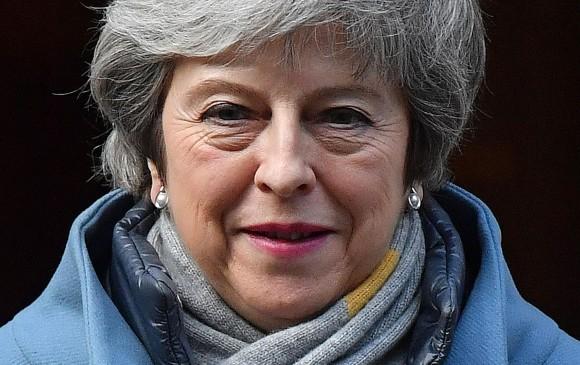 Theresa May, primera ministra de Reino Unido, quien lideró el Brexit. FOTO: AFP