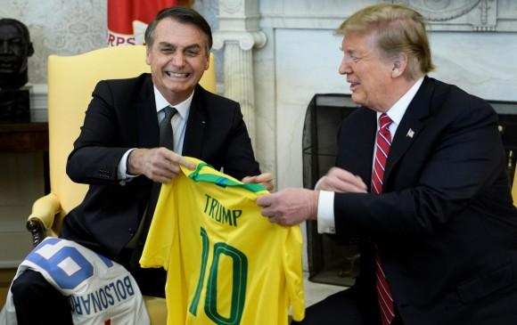 Mundo: Trump recibió a Jair Bolsonaro con elogios y un fuerte apoyo
