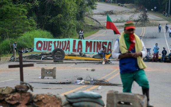 Minga indígena estaría infiltrada por ilegales: Mindefensa