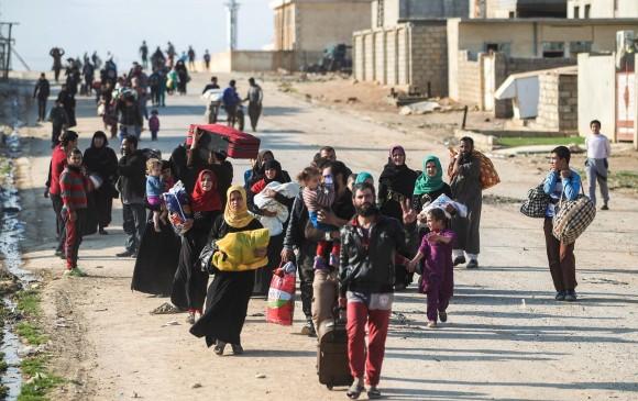 Fuerzas iraquíes toman estación de trenes de Mosul