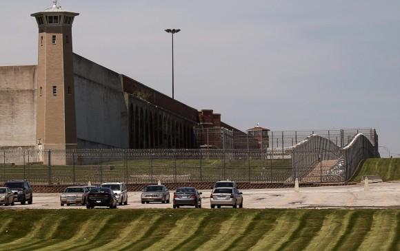 Prisión de Fort Leavenworth, Kansas, donde se mantuvo a Chelsea Manning. FOTO REUTERS