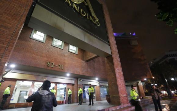 Bogotanos se concentran en el Andino para rechazar atentado terrorista del sábado