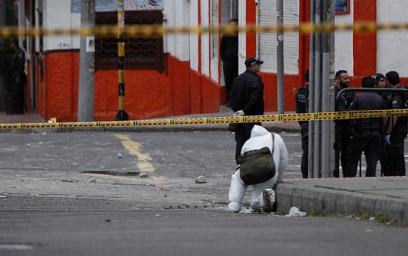 Ocho heridos tras explosión de granada en Bogotá, Colombia