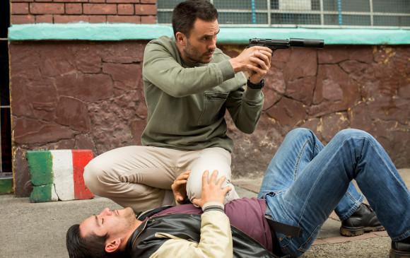 Juan Pablo Raba protagoniza a un exguerrillero que intenta reintegrarse en la sociedad. Foto: Cortesía