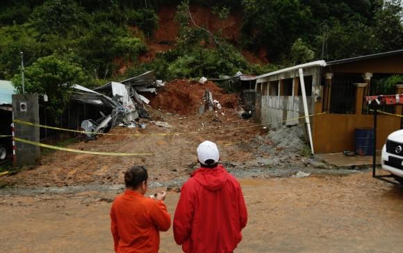Huracán Otto azotó con fuerza municipio nicaragüense de Cárdenas