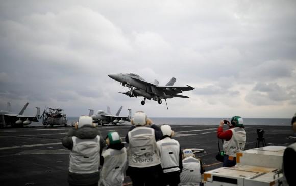 Estados Unidos envía portaaviones a la Península de Corea