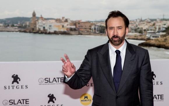 Nicolas Cage está en el Festival de Cine Fantástico de Sitges (noreste español),