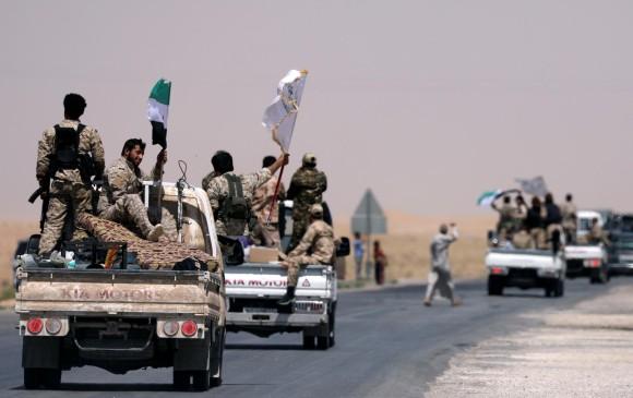 Coalición internacional ataca nuevamente al Ejército sirio