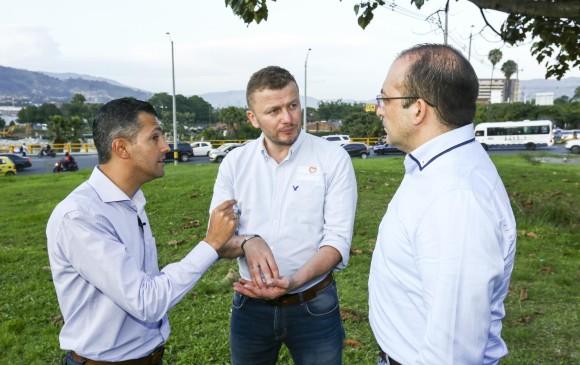 Los mandatarios electos piden celeridad y que se destinen los recursos para intercambio vial en Mayorca. <b>FOTOS: </b>Edwin Bustamante