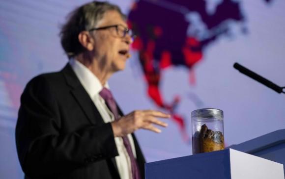 Bill Gates presentó su inodoro