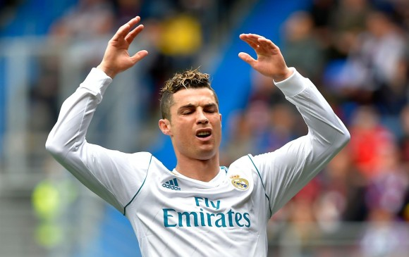 Cristiano Ronaldo sigue en ascenso con el Real Madrid. FOTO AFP