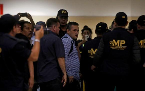 El investigador colombiano Yilen Osorio pudo ingresar finalmente a Guatemala. Foto Efe