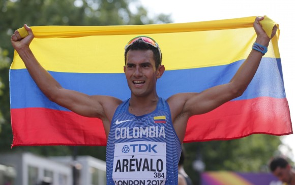 ¡Campeón! El bogotano Éider Arévalo gana oro en Mundial de Atletismo