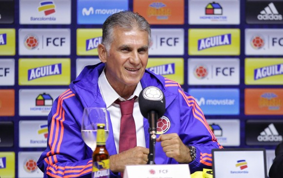 Confirmado el cuerpo técnico de Carlos Queiroz en la Selección Colombia