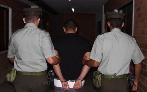 Alias Abelito fue capturado cuando iba a visitar a su pareja sentimental