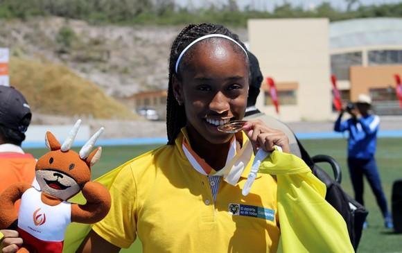 Laura Martínez es una de las 30 deportistas colombianas que están en los Suramericanos. FOTO cortesía coldeportes