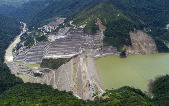 Panorámica del proyecto hidroeléctrico Hidroituango. FOTO: Juan David Úsuga Muñoz