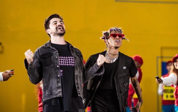 Juanes y Lalo Ebratt grabaron en Medellín el video de La plata. FOTOS cortesía equipo de juanes/ 36 grados y jaime molina