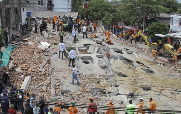 Suspenden temporalmente al alcalde de Cartagena tras desplome de edificio