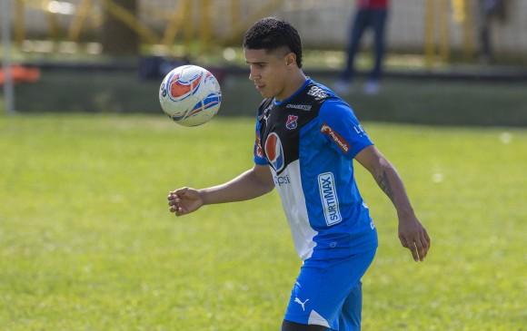 Daniel Cataño, quien llegó como refuerzo para el 2017, marcó un gol y jugó 27 partidos con el rojo. FOTO juan antonio sánchez