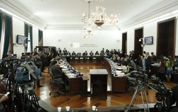 Circunscripciones especiales de paz avanzan en el Congreso
