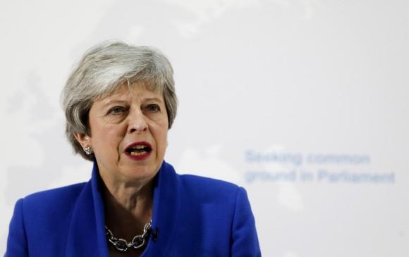 Theresa May asegura que podría haber nuevo referendo sobre el Brexit