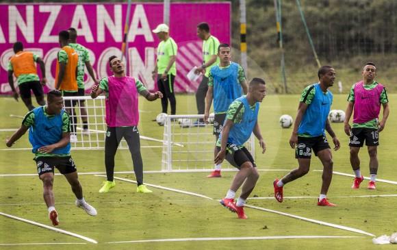 Atlético Nacional está listo para el debut ante Once Caldas