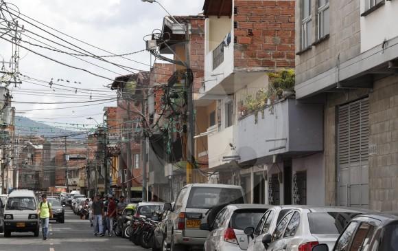 Calles del barrio Trinidad o Antioquia.
