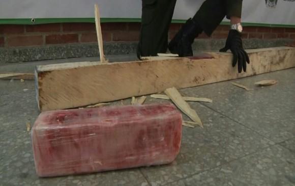 43 kilos de cocaína fueron incautados en El Dorado