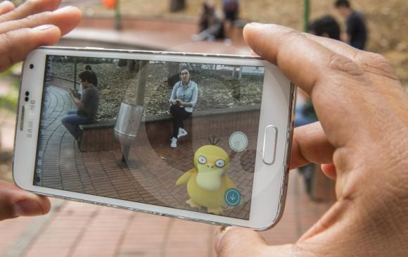 Según estudio, Pokémon Go, puede ayudar a la gente a alcanzar los 10.000 pasos diarios. FOTO EDWIN BUSTAMANTE