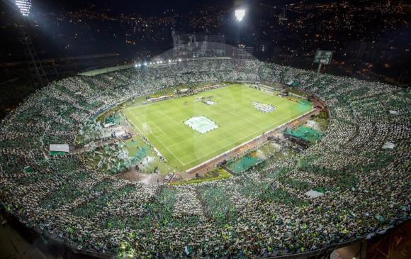 Nacional, que tiene sede propia para entrenamientos en Guarne, no tiene en sus planes construir un estadio. FOTO ESTEBAN VANEGAS