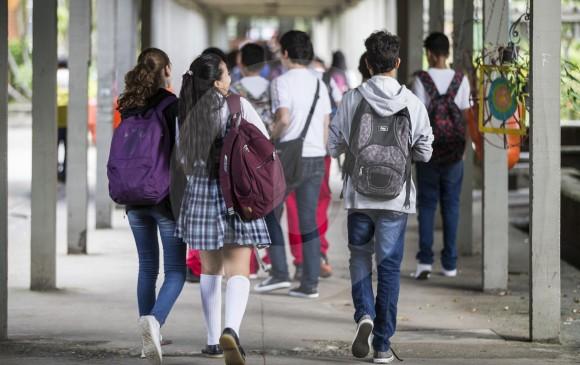 Los estudiantes del Colegio Inem de Medellín, son unos de los de mejor puntaje en pruebas del EstadoFoto: Jaime Pérez Munévar