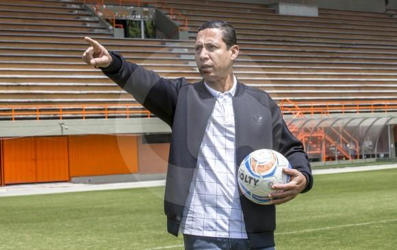 Jaime Pabón fue campeón con Nacional en 1994 y subcampeón de Libertadores en 1995. Trabaja en la parte técnica desde 2008, se inició de la mano de Juan José Peláez. FOTO juan a. sánchez
