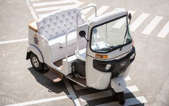 El motocarro que usará el papa Francisco en su viaje a Medellín