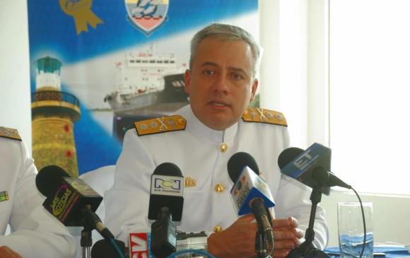 Vicealmirante Ernesto Durán, nuevo comandante de la Armada Nacional
