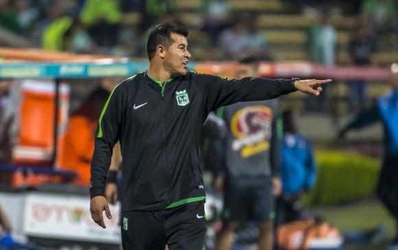 El argentino Jorge Almirón tiene un rendimiento del 71,8% con Nacional en el torneo. El segundo en la tabla es Cali bajo la dirección del uruguayo Gerardo Pelusso. FOTO juan antonio sánchez