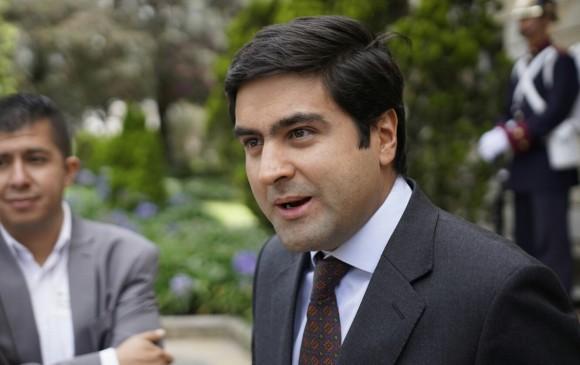 La curul que dejó Hoyos deberá ser ocupada por el actual viceministro de Relaciones Políticas, del Ministerio del Interior: Juan Manuel Daza. FOTO COLPRENSA