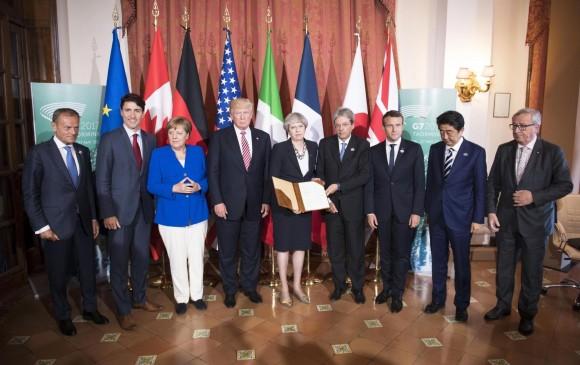 Declaración G7: EU no se suma a consenso sobre clima